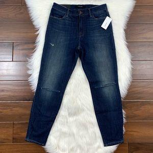 J Brand Volatile Alana High Rise HD Cropped Jeans
